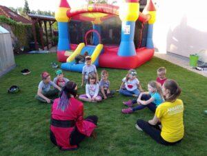 Ninjago dětská oslava - vyhodnocení