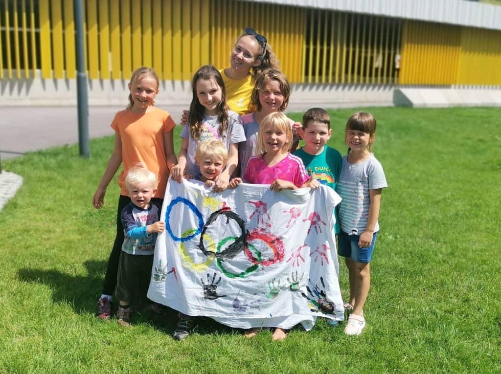Animační program pro děti Olympiáda