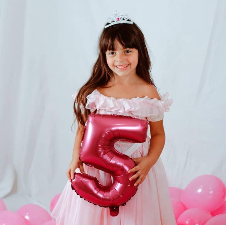Animační program pro děti Staň se princeznou - princezna 5 let
